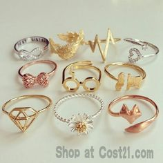 Adorable rings !!!