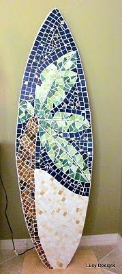 mosaic surfboard