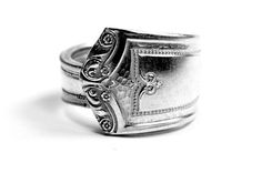 Vintage Silver Spoon Ring by Kimberlin Silver Co.