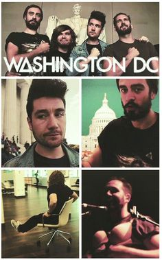 Bastille in DC (notice the pin on Kyle's shirt)