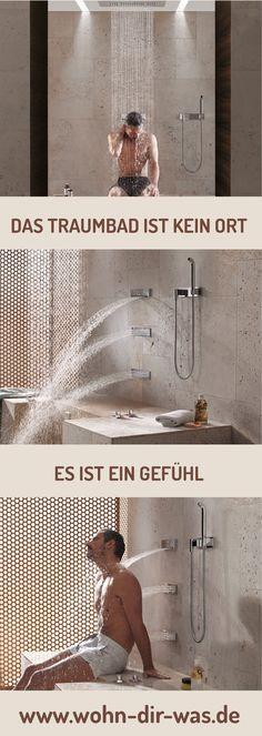 Dein persönliches Traumbad ist das Bad, in dem du dich rundum wohlfühlst. Gönn dir daher das Bad, das du dir wünschst. Wir helfen dir bei der Realisierung deiner Träume: www.wohn-dir-was.de Bildmaterial: (c) Dornbracht