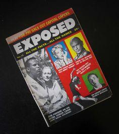 Exposed Magazine June 1957 Vol. 2 No. 15 Vintage Gossip Periodical AtomicPutz.com