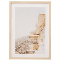 A beautiful framed temple print, that adds life to any room. The Warehouse Toilet Room, Framing Materials, Warehouse, Home Accessories, Temple, Framed Prints, Bathroom, Live, Image
