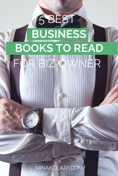 5 best business books to read for business owner, freelancer and service provider. Improve your results by learning from others. Click to read now or pin to save for later.