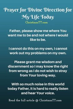 32 Best Prayer for guidance images in 2017 | Bible verses