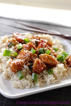 Eat Good 4 Life: Quick General Tso's Chicken