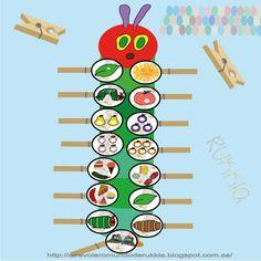 Cuento oruga glotona, manualidad oruga glotona, very hungry caterpillar, hungry caterpillar activities, hungry caterpillar craft, hungry caterpillar