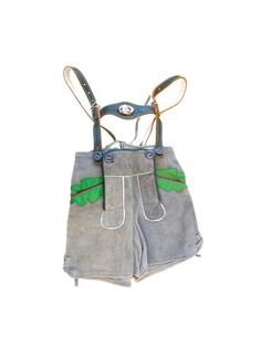 VTG 70's austria suede pair of shorts KIDS //Child's by jolimome, $95.00