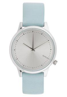 Horloges Komono THE ESTELLE - Horloge - river Lichtblauw: € 69,95 Bij Zalando…