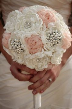 Wedding Bouquet Bridal Bouquet Brooch by SimplyTimelessEvents