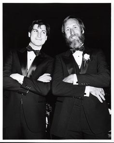 """[Think Different] was a celebration of Steve's Apple. The old Apple. And the new Apple he envisioned."" - Lee Clow, pictured with Steve Jobs in 1984, Game Changers: The Evolution of Advertising"