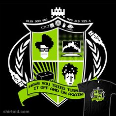 The IT Crest #TheITCrowd