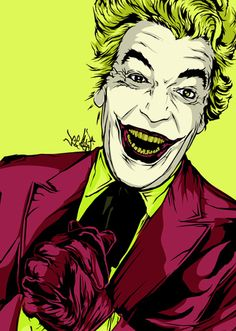 The Joker - Cesar Romero by Vee Ladwa Batman 1966, Im Batman, Batman Art, Marvel Dc Comics, Gotham Batman, Batman Stuff, Batman Robin, Superman, Comic Book Characters