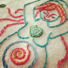 Hand embroidered goddess/ blessing way flags, and new fine are prints are available in my shop today.
