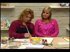 Pintura em tecido e aplicação com Eliana Rolim - Vitrine do Artesanato na TV