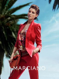 guess marciano spring 2014 campaign3 Clara Alonso & Heather Depriest Front Guess by Marciano Spring 2014 Ads by Hunter & Gatti