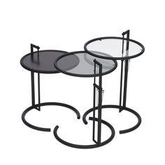 Classicon e-1027 table black by Eileen Gray - Best of Salone Internazionale del Mobile 2015 | Yellowtrace