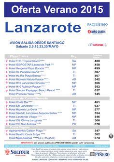 Oferta hoteles en LANZAROTE, salidas 2, 9, 16, 23 y 30 Mayo desde Santiago ultimo minuto - http://zocotours.com/oferta-hoteles-en-lanzarote-salidas-2-9-16-23-y-30-mayo-desde-santiago-ultimo-minuto/