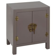 GORGEOUS smoky grey - the perfect bedside? http://www.frenchbedroomcompany.