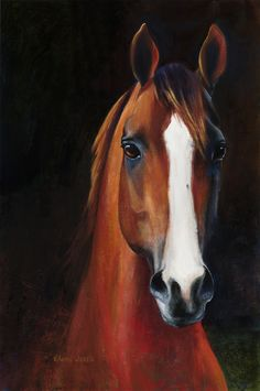 "Original 16""x24"" acrylic painting on gallery wrapped canvas.California Chrome, ""the people's horse""! This bright eyed sparkling youngster won the hearts of racing fans with is great story and his awesome trainer and jockey!"