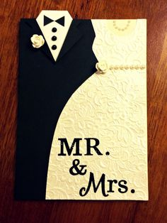 Cute wedding card!