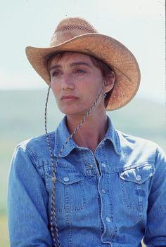 Kristin Scott Thomas in The Horse Whisperer