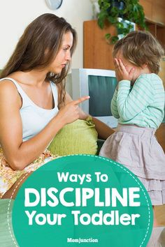 Ways To Discipline Your Toddler