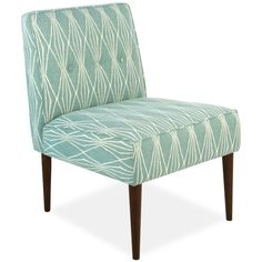 Palmdale Handcut Shapes Fabric Accent Chair ($349) ❤ liked on Polyvore featuring home, furniture, chairs, accent chairs, rain, upholstered chair, upholstery furniture, upholstered furniture, upholstery fabric furniture and fabric furniture