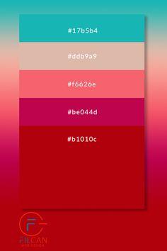 Beautiful color palettes for your next web design project. Web Design Color, Graphisches Design, Game Design, Flat Color Palette, Colour Pallete, Color Schemes, Website Color Palette, Pantone Colour Palettes, Pantone Color