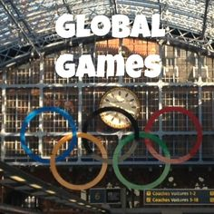Activity for kids to explore the meaning the Olympic Rings: The Pleasantest Thing: Global Games