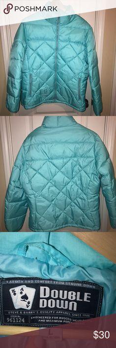 Puffer jacket Bright blue winter jacket. Jackets & Coats Puffers