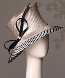 Fashion hat Sorrento by Melbourne milliner Louise Macdonald
