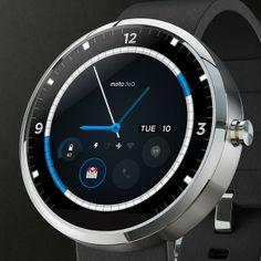Motorola esitteli Moto 360:n design-kilpailun voittajaksi valitun kellonäytön