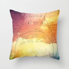The films of Studio Ghibli have a way of filling us with childlike wonder at any age. Celebrate your love for My Neighbor Totoro in your home with this exclusively designed poplin pillow cover featuring the lovable forest spirit against a photorealistic background. Whether it's for the kids or especially for you, we know it will bring a smile to your face.