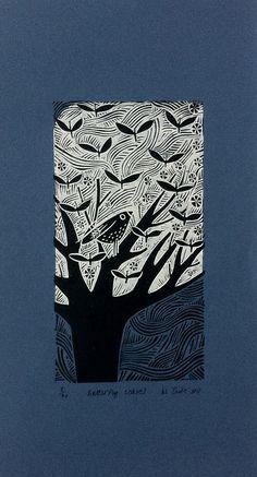 Linocut Prints, Art Prints, Block Prints, Impression Textile, Lino Art, Linoprint, Arte Popular, Sgraffito, Tampons
