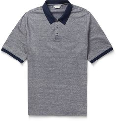 Gieves & Hawkes - Cotton and Linen-Blend Polo Shirt | MR PORTER