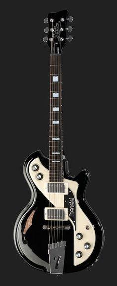 Italia Guitars Mondial Classic Guitar Black
