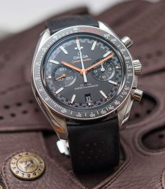 Omega Speedmaster Racing Master Chronometer Watch Review