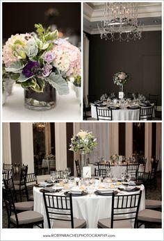 Waldorf Astoria Wedding #wedding #centerpiece #chicago #flowers #decor