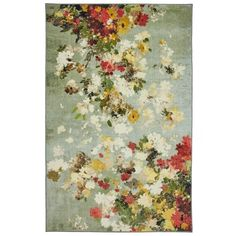 Floral Area Rugs, Beige Area Rugs, Home Design, Mohawk Home, Textured Yarn, Red Green Yellow, Orange Area Rug, Modern Area Rugs, Contemporary Rugs
