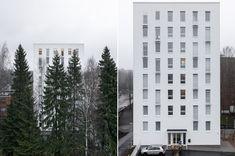 as.oy. Vantaan merkki, Vantaa, Kanttia2 Oy Ark, Multi Story Building, Architecture, Projects, Arquitetura, Log Projects, Blue Prints, Architecture Design