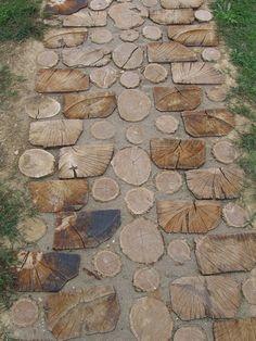 Wooden Serbian footpath (Flickr photo by jecadim)