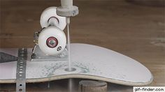 Exploding Skateboard Wheels With Waterjet