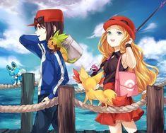 Pokémon X & Y Image - Zerochan Anime Image Board Calem Pokemon, Pika Pokemon, Pokemon Kalos, Pokemon X And Y, Pokemon Gijinka, Pokemon 20, Pokemon Ships, Cool Pokemon, Pokemon Stuff