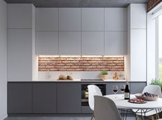 Charming Minimalist Kitchen Decor and Design Ideas (48)