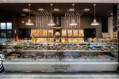 Proyecto interiorismo decoración panadería Lazareno Gourmet                                                                                                                                                                                 Más