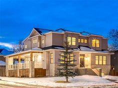 4221 16 St Sw, Calgary Property Listing Corner Gas Fireplace, Heated Garage, Pantry Room, Knotty Alder, Custom Built Homes, Wood Trim, Property Listing, Calgary, Living Spaces