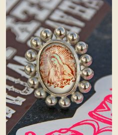 LOVE GUADALUPE RING - BALL - Junk GYpSy co.