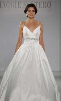 Maggie Sottero Stephanie wedding dress currently for sale at 60% off retail.
