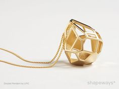 Shapeways Adds 14k Gold to 3D Printed Products - 3D Printing Industry